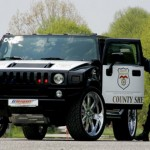 Obrázkoviny – 19x policajné auto ináč