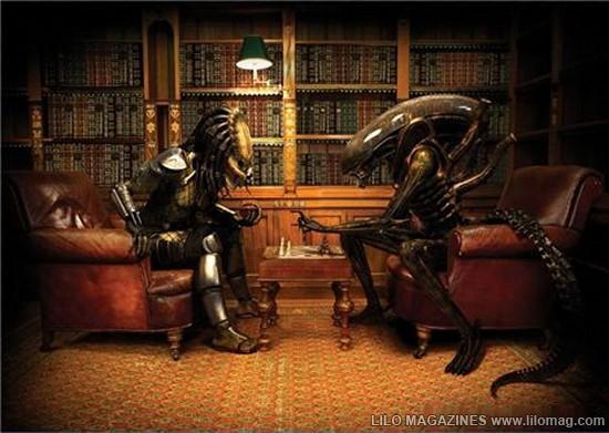 Rýchlovka – Alien a Predator:susedia