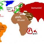 Svet podľa AMERIKY