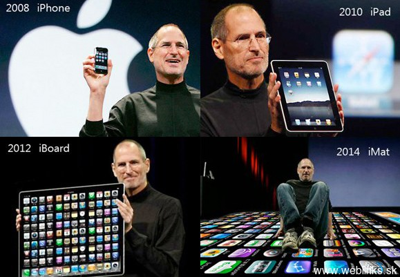 Ďalší prirodzený vývoj firmy Apple