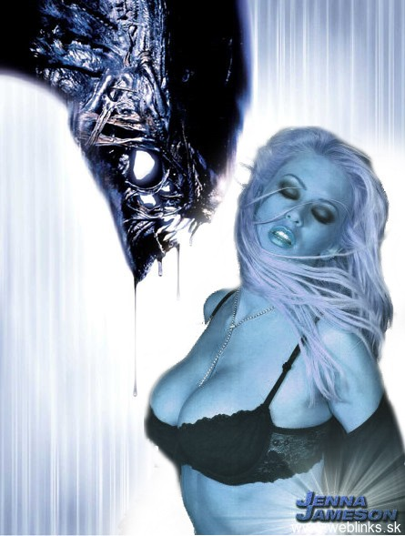 Alien vs Jenna Jameson
