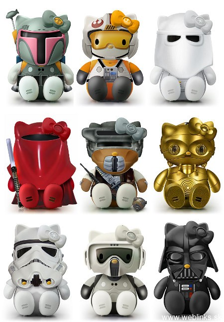 Hello-Kitty-Star-Wars-Figurines