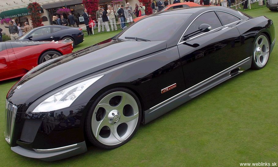 MaybachExeleroConcept. Need4Speed FINALE: Maybach Exelero