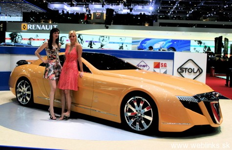 stola concept Need4Speed FINALE: Maybach Exelero