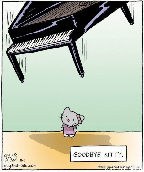 Hello Kitty.. GoodBye Kitty!