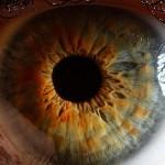 Oči pekne zblízka