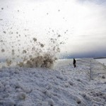 Zima po americky: sneh na volante a v kufri