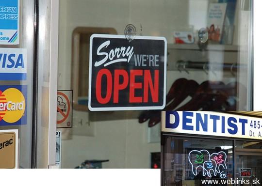 Čierny humor u zubára