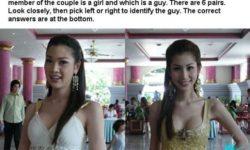 Test: Uhádneš? Kto je žena a kto chlap?