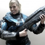 jordon 150x150 Halo: Spartan armor girl cosplay