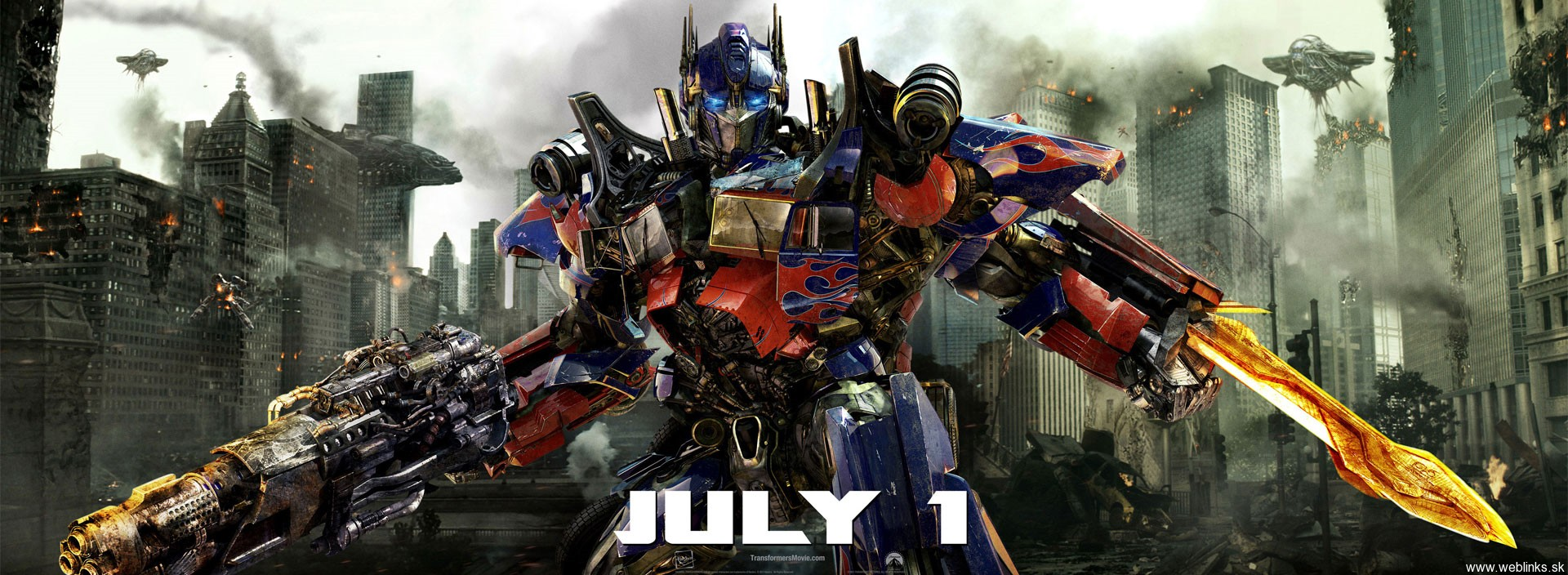 Odhalenie: Transformers 3 wallpapers