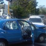 Havária s kýblom farby na zadnom sedadle :)