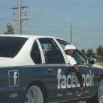 Facebook ride baby!