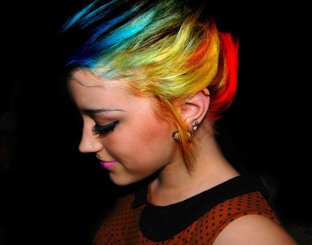 яркие цвета волос картинки 2