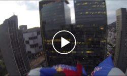 Adrenalínový wingsuit prelet Rio de Janeiro