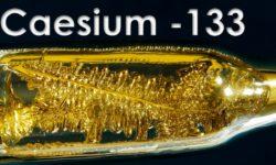 Cézium – veľmi efektný kov, vhodný na hranie pre deti :)