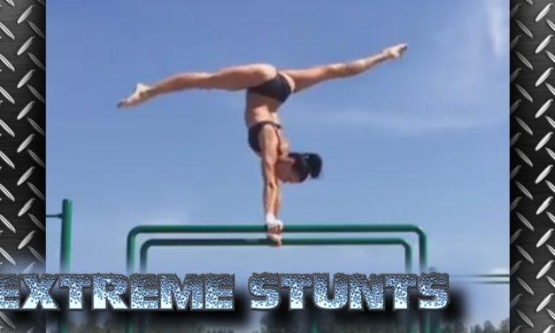 Extrémne gymnastické kúsky na ktoré sa veľmi dobre pozerá