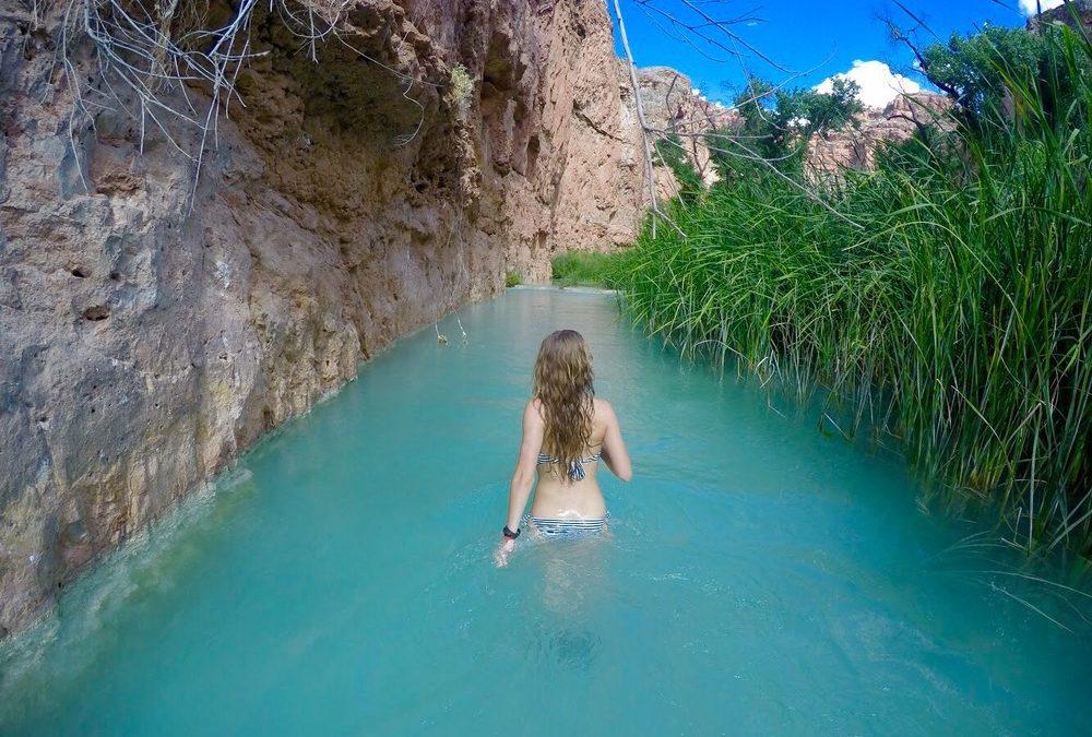 Vodopády Havasu – raj v raji
