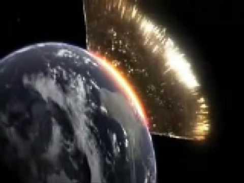 Dopad asteroidu …
